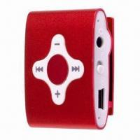 Buy cheap Flash MP3 Player with Clip, MP3/WMA File Formats and Built-in Rechargeable Li-battery from wholesalers