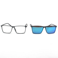 Buy cheap Casual Unisex Magnetic Polarized Clip On Eyeglasses from wholesalers