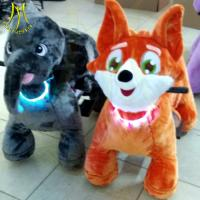 Buy cheap Hansel manufacture price coin operated plush animal ride motorcycle with 2 seats from wholesalers