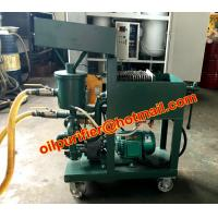 Buy cheap Portable Press Plate Oil Purifier for High Filtration Degree,waste oil filter machine, filtering equipment from wholesalers