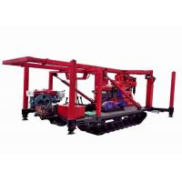 Buy cheap Strong Capacity Crawler  Intensity Geological Drilling Rig With Low Labor from wholesalers