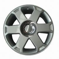 Buy cheap Car Wheel Material with 17-inch Aluminum Diameter and Slive Finishing from wholesalers