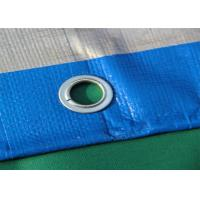 Buy cheap Blue Geosynthetic Fabric PE Tarpaulins 200GSM For Truck Cover product