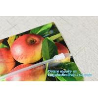 Buy cheap Fruit Grape Cherry Vegetable Packing Protection Bag, handle standing resealable zipper protection fresh vegetable fruit from wholesalers