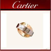 Buy cheap Cartier Yellow and White Gold LOVE Ring from wholesalers
