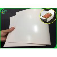 China 300gsm FDA Certified One side PE Coated FBB Paper With High glossy on sale