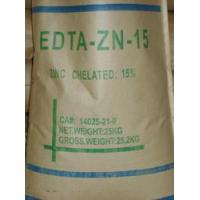 Buy cheap White Powder / Microgranular CAS No.14025-21-9 Zinc Disodium EDTA EDTA-ZN-15 EDTA Chelator from wholesalers