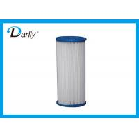 Buy cheap High Flow Polypropylene Pleated Water Filter Cartridge With 50 Micron from wholesalers