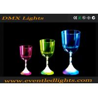 Buy cheap 100% Waterproof Liquid / Champagne Led Plastic Cups For Wedding from wholesalers