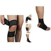 Buy cheap High elasticity Calf Thigh Support Knee Compression Wrap Bandage. Elastic material.Customized size. from wholesalers
