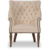 Buy cheap dining room chair upholstery fabric antique wooden arm chairs french vintage armchair from wholesalers
