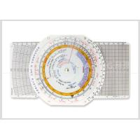 Buy cheap Multi use Plastic Navigation Flight Computer E6B Plotter with Booklet for Pilot Student CRP-5 from wholesalers
