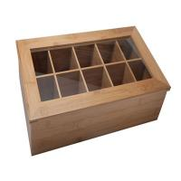 Buy cheap hot selling bamboo tea bag box tin tea box with 8 component for high quality from wholesalers