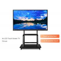 Buy cheap 75 Inch 4K Interactive Digital Whiteboard With Vector Touch & Authentic Pen Touch from wholesalers