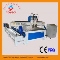 Buy cheap 1500 x 3000mm Double heads Rotary axis cnc engraving machine  TYE-1530-2T from wholesalers