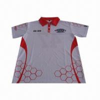 Buy cheap Customized Polo Shirt with Sublimation Printing from wholesalers