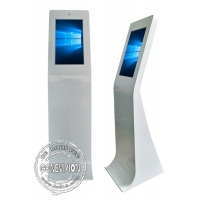 Buy cheap 23.6 Inch Windows 10 AIO Movable Touch Screen Kiosk with Camera from wholesalers