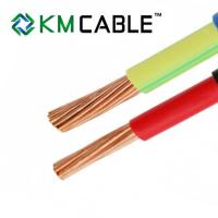Buy cheap single core solid or stranded copper cable and wire 1mm 1.5mm 2.5mm PVC insulated electric wire h05v-k H07V-K from wholesalers