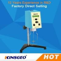 Buy cheap 3-100 RPM Sensor Digital Rotational Viscometer Brookfield Viscometer With Warranty 12 Months from wholesalers