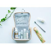 Buy cheap Hanging Travel Cosmetic Bags With Compartments/ Handle Recycable Custom Design from wholesalers