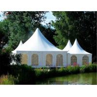 Buy cheap Outdside Folding Gazebo Pagoda Tent 4m X 3m Polyester With Double Side PVC Coated from wholesalers