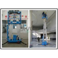 Buy cheap Dual Mast Vertical Mast Lift 8 Meter Platform Height For Business Decoration from wholesalers