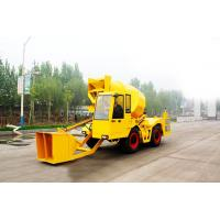 Buy cheap 2cbm Self Loading Cement Mixing Mini Mobile Concrete Mixer Truck from wholesalers