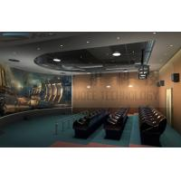 Buy cheap 5D theater system , arc silver screen , perfect fusion effect product