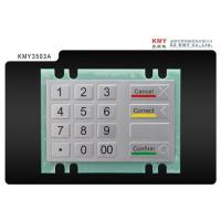 Buy cheap Metal ATM encryption PINpad from wholesalers