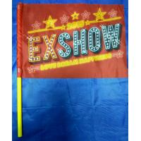 Buy cheap Wholesale nice printing fans waving hand flags with strong pole from wholesalers