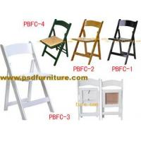 Buy cheap Banquet Wooden Folding Chair Rental FC4 from wholesalers