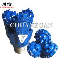 Buy cheap Blue 216MM Tricone Rock Roller Bit 8 1/2 Inch With 80 - 40 r/min Rotary Speed product