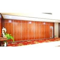 Buy cheap Acoustic Folding Office Partition Walls , Movable Decorative Room Divider Aluminium Track from wholesalers