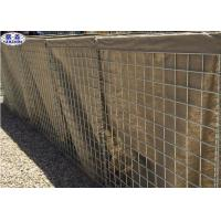 Buy cheap Heavy Duty Welded Gabion Box Wall MIL 8 High Tensile Anti - Impact Capability from wholesalers