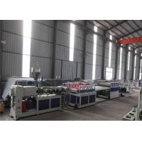 Buy cheap 380V 50HZ WPC Board Production Line For Furniture 1 Year Warranty product