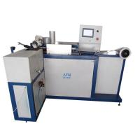 Buy cheap spiral flexible aluminum duct making machine ATM-A300A from wholesalers