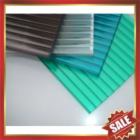 Buy cheap high qualtity greenhouse roofing polycarbonate PC multiwall twin wall cell hollow board sheet sheeting plate panel from wholesalers