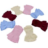 Buy cheap Custom Made Breathable Ladies knitted Cotton Red Open Toe Ankle Socks Full Size from wholesalers