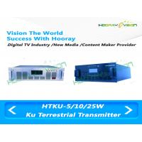 Buy cheap Broadband 5W Ku Digital Terrestrial Transmitters 40 Nsec Group Delay Characteristics from wholesalers