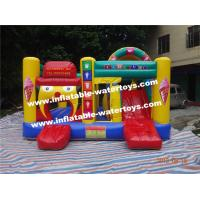 Buy cheap Commercial Inflatable Combo Bouncers House With PVC Tarpaulin from wholesalers