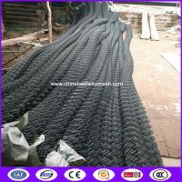 Buy cheap 4m tall Black Vinly  Chain Link Fence for Security made in china from wholesalers