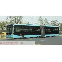 Buy cheap 41-60 seats 18 meters Articulated city bus YS6180G from wholesalers