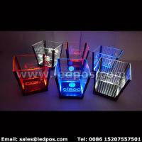 Buy cheap Ledpos Customized Rechargeable LED Ice Bucket from wholesalers