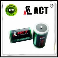 Buy cheap ACT 3.6v D size lithium battery ER34615 from wholesalers