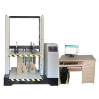 Buy cheap Stroke Protection Paper Testing Instruments / Corrugated Carton Resist Compression Tester from wholesalers