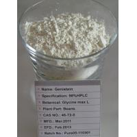 Buy cheap No Side Effect 99% Purity Natural Extract Genistein 446-72-0 For Cancer Treatment from wholesalers