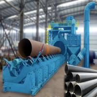 Buy cheap QGW series steel pipe inner and outer walls special shot blasting machine from wholesalers