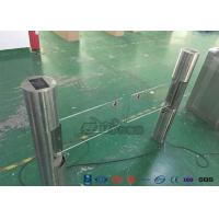 Buy cheap Intelligent Swing Automatic Barrier Gate With Aluminum Alloy Mechanism with people counting systems product
