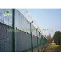 Buy cheap Customized Welded 358 Security Mesh Fencing φ500 Razor Wire On Top For Airport from wholesalers