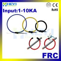 Buy cheap HEYI flexible rogowski coil FRC series 1-10ka input various window size flexible rope CT from wholesalers